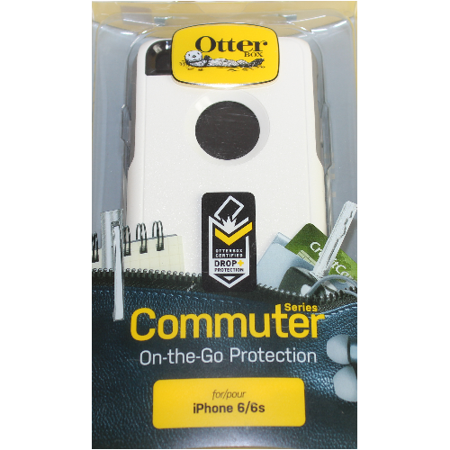 Authentic OtterBox - Commuter Case for Apple iPhone 6s/6 in Glacier