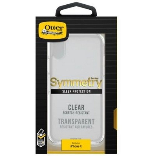 OtterBox Symmetry Clear Series Case for iPhone X - Clear Crystal (77-57119)