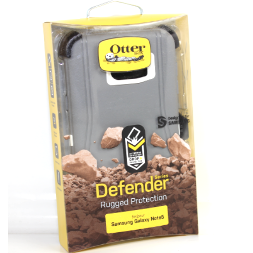 Authentic OtterBox Defender Series Case for Samsung Galaxy Note 5 Glacier