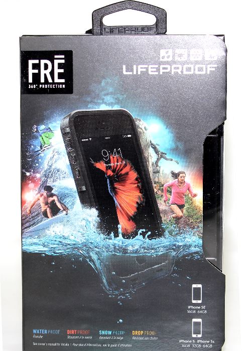 100% Authentic LifeProof Fre Series Waterproof Case for iPhone 5/5S/SE