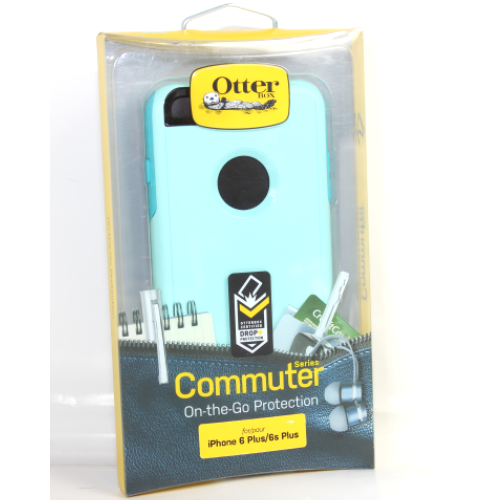 OtterBox Commuter 2-Layer Hard Case for iPhone 6 Plus iPhone 6s Plus (Aqua Blue)