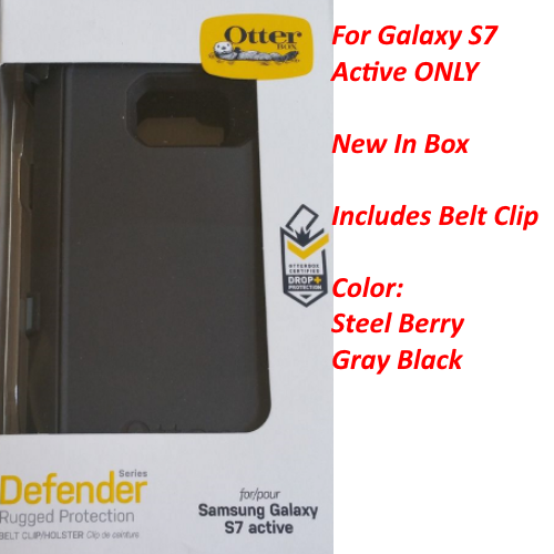 OtterBox DEFENDER SERIES Case For Samsung Galaxy S7 ACTIVE 77-53726