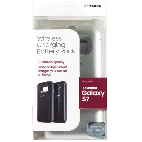 Authentic Samsung For Samsung Galaxy S7 Wireless Charging 2700mAh Battery Pack