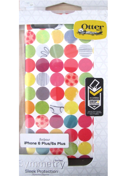 New OtterBox (8533) SYMMETRY Case for iPhone 6 Plus / 6s Plus GUMBALLS GRAPHIC