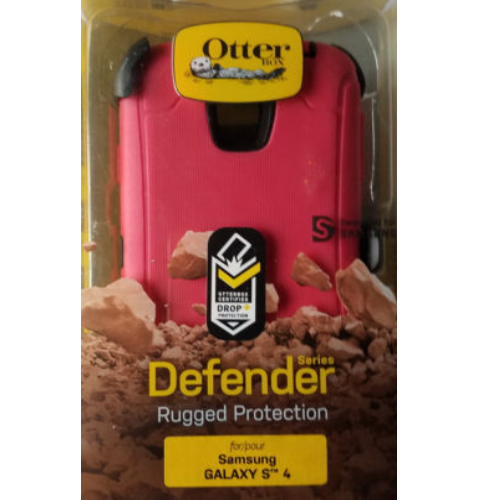 Authentic Otterbox Defender Series Case & Belt Clip for Samsung Galaxy S4