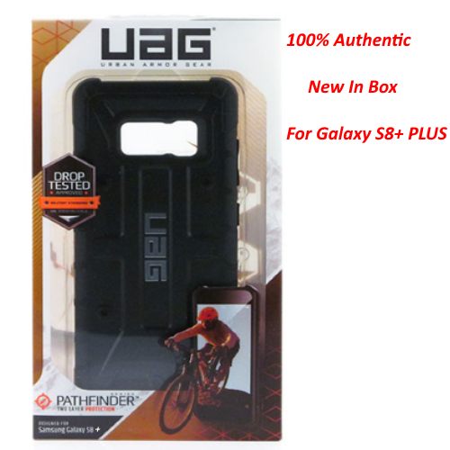 UAG Urban Armor Gear Pathfinder Drop Tested Case For Samsung Galaxy S8 (Black)