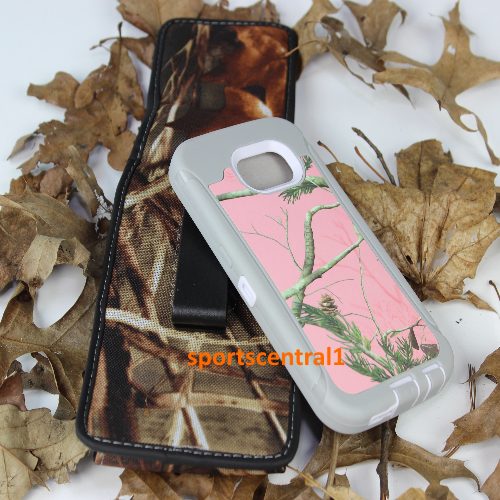 for Galaxy S6 Camo pink