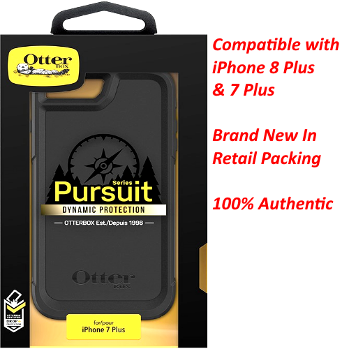 "New OtterBox PURSUIT Series Phone Case For Apple iPhone 7 Plus & 8 Plus (5.5"")"
