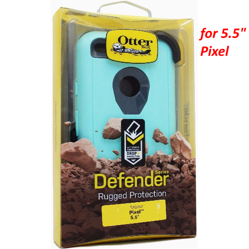 "Otterbox Defender Case & Belt Clip Holster for Google Pixel XL 5.5"" Aqua Mint"