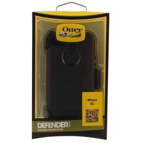 New Otterbox Defender Protective Cover Case & Belt Clip For Apple iPhone 5c