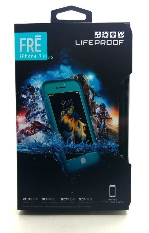 New LifeProof Fre Protective Waterproof Case For iPhone 7 Plus Sunset Bay Teal