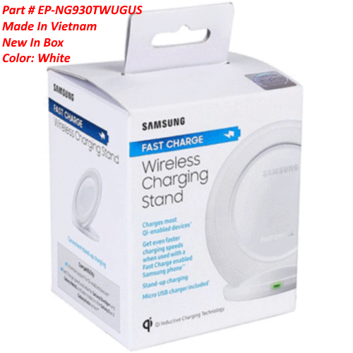Samsung Wireless QI Charging Stand Pad Fast Charge For Galaxy S7/S6 Edge S8 Plus