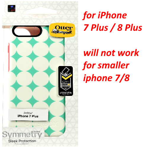 OtterBox Symmetry Series Case for iPhone 8 Plus iPhone 7 Plus - HALFTONE