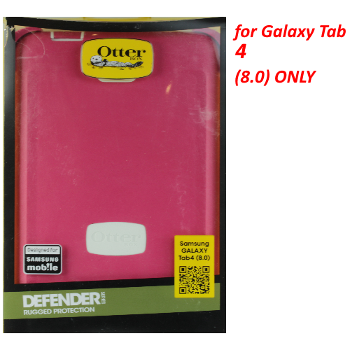OtterBox 77-43308 Defender Series Case for Samsung Galaxy TAB 4 8.0 - Papaya