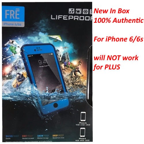 New Authentic Lifeproof Fre Series Waterproof Case For iPhone 6S & iPhone 6