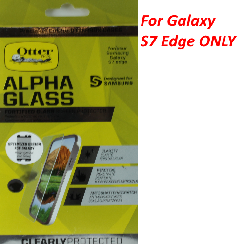 Otterbox Alpha Glass Series Screen Protector For Samsung Galaxy S7 Edge