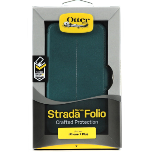 New Otterbox Strada Folio Case Premium leather For iPhone 7 Plus Pacific Opal