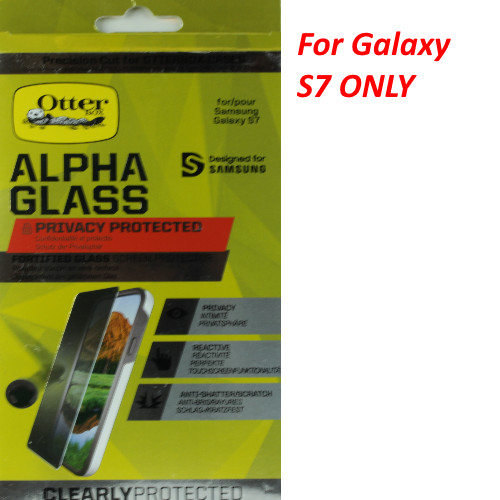 OtterBox ALPHA Privacy Glass Series Screen Protector For Samsung Galaxy S7