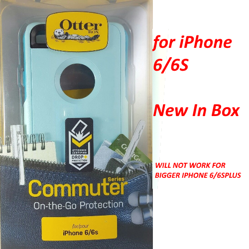 New OtterBox Commuter Series Slim Case for Apple iPhone 6s & 6 Aqua Teal