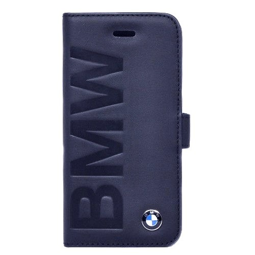 Book Wallet Case Cover Real Leather Bmw Collection For Apple Iphone 5 / 5S / SE