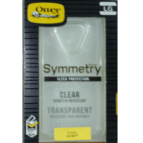 New LG G6 Otterbox Symmetry Clear Case - Transparent Cover 77-55435