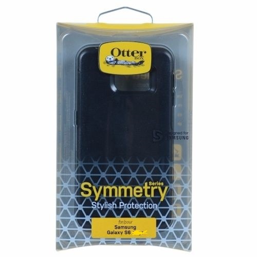 Authentic OtterBox Symmetry Case Cover For Samsung Galaxy S6 ONLY Black