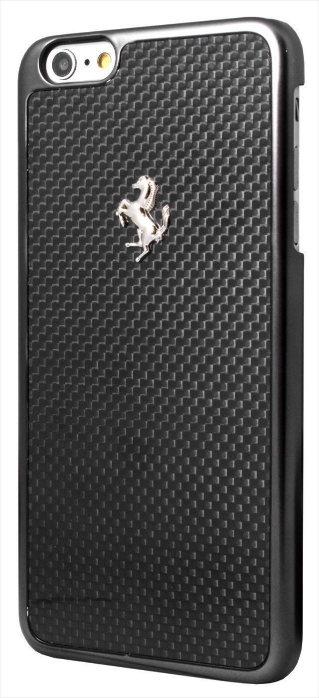 Genuine Official Ferrari GT Real Carbon Fiber Hard Case Cover For iPhone 6 / 6S