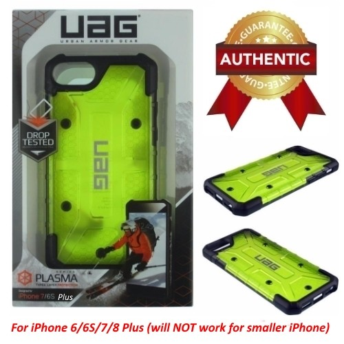 UAG Urban Armor Gear Plasma Case Cover For iPhone 6/6S/7/8 Plus ONLY - Citron