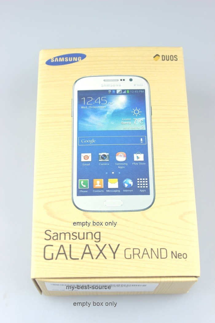 New EMPTY BOX For Samsung Galaxy Grand Neo GT-I9060/DS