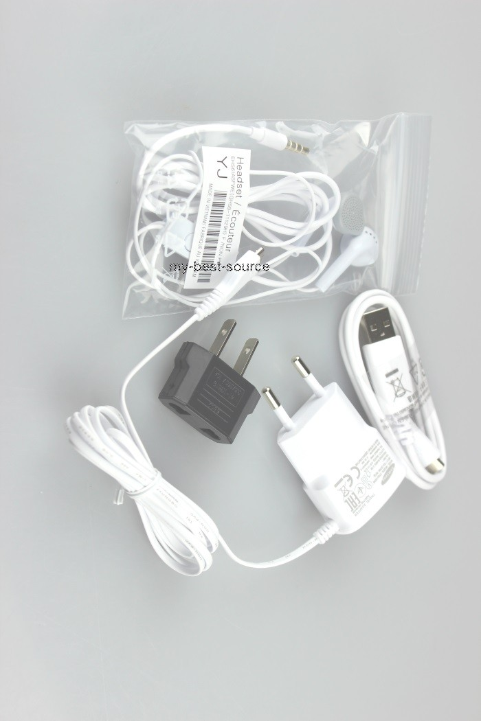 Original Accessory Bundle Charger/Wall/USB 3.5mm Headsets For All Samsung Phones