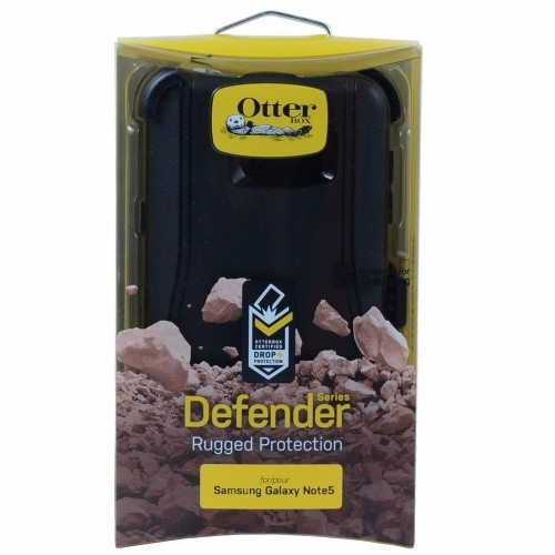 Authentic OtterBox Defender Series Case & Belt Clip for Samsung Galaxy Note 5