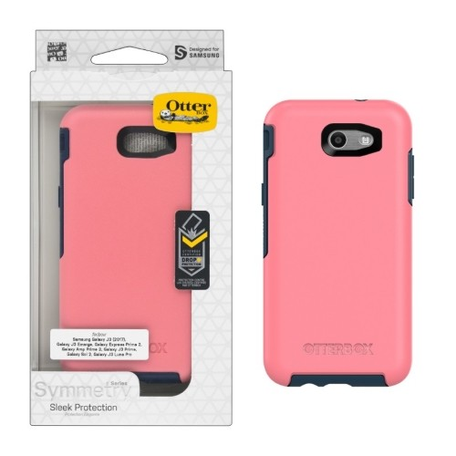 New Otterbox Symmetry Series Case for Galaxy J3 Emerge - Saltwater Taffy