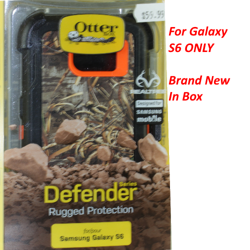 New OtterBox Defender Series Case for Samsung Galaxy S6 - Xtra RealTree Blazed