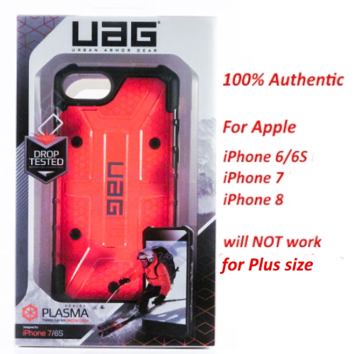 UAG Urban Armor Gear Plasma Pathfinder Case for iPhone 7/8 iPhone 6 / 6S Magma