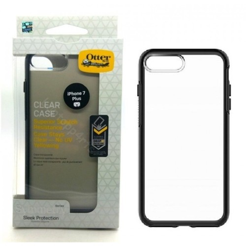 Authentic OtterBox Symmetry Series Case For iPhone 7 PLUS Clear/Black