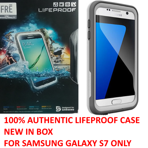 New Authentic Lifeproof Case WaterProof Cover For Samsung Galaxy S7 (77-53379)