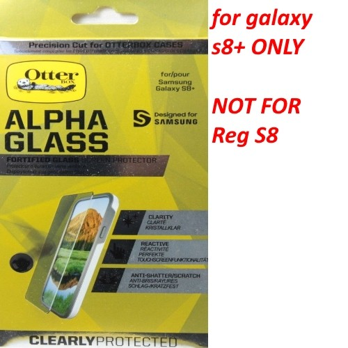 Otterbox Alpha Glass Series Clear Screen Protector For Samsung Galaxy S8+ PLus