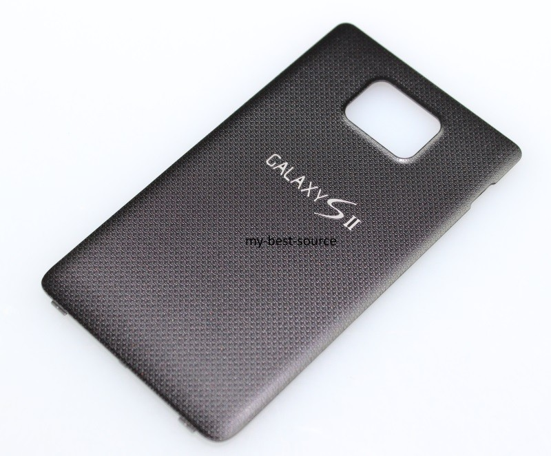 New Original Black Battery Door Cover For Samsung Galaxy S II SGH-i777