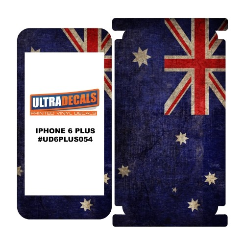 Skin Decal Sticker Wrap Vinyl For iPhone 6/6S Plus Vintage Flag of Australia