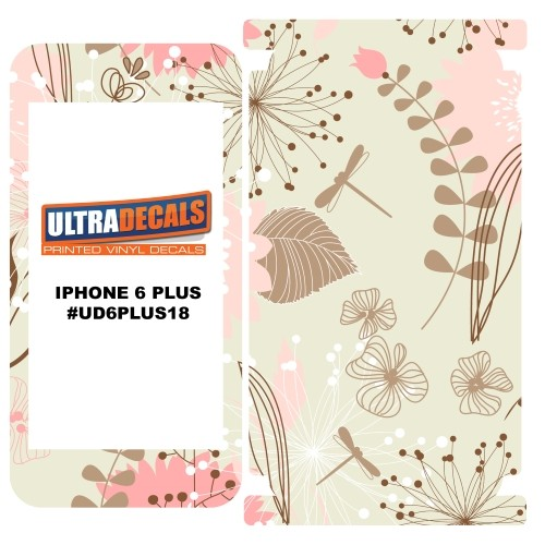Skin Decal Sticker Wrap 3M Vinyl For Apple iPhone 6/6S Plus Flourish Curtain