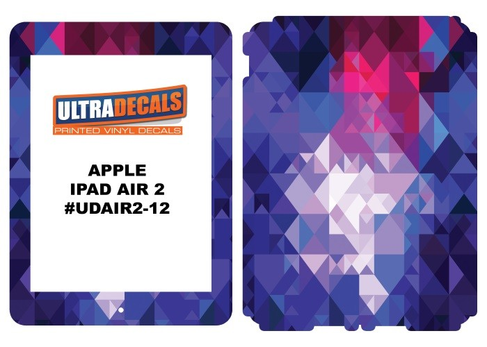 Ultradecal iPad Air 2 Skin Wrap Decal Printed Sticker 3M Vinyl - Blurry Design