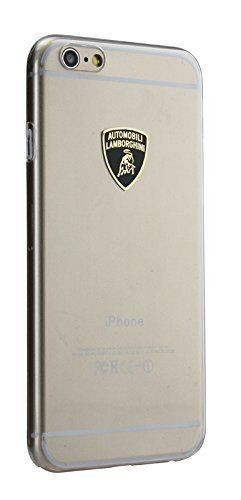 "Genuine Lamborghini Hard Slim Shell Ice Clear Cover Case for iPhone 6/6S [4.7""]"