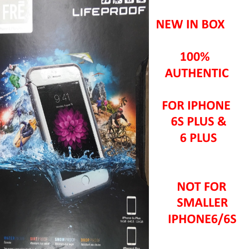 New Lifeproof FRE SERIES iPhone 6 Plus 6s Plus Waterproof Case - Avalanche