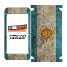 Skin Decal Sticker Wrap Vinyl For iPhone 6/6S Plus Vintage Flag of Argentina