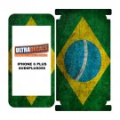 Skin Decal Sticker Wrap Vinyl For iPhone 6/6S Plus Vintage Flag of Brazil