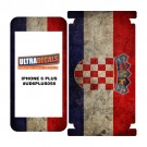 Skin Decal Sticker Wrap Vinyl For iPhone 6/6S Plus Vintage Flag of Croatia