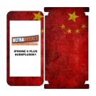Skin Decal Sticker Wrap Vinyl For iPhone 6/6S Plus Vintage Flag of China