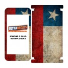 Skin Decal Sticker Wrap Vinyl For iPhone 6/6S Plus Vintage Flag of Chile