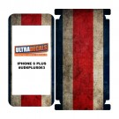 Skin Decal Sticker Wrap Vinyl For iPhone 6/6S Plus Vintage Flag of Costa Rica