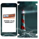 Skin Decal Sticker Wrap 3M Vinyl For Apple iPhone 6/6S Plus Lighthouse Waves